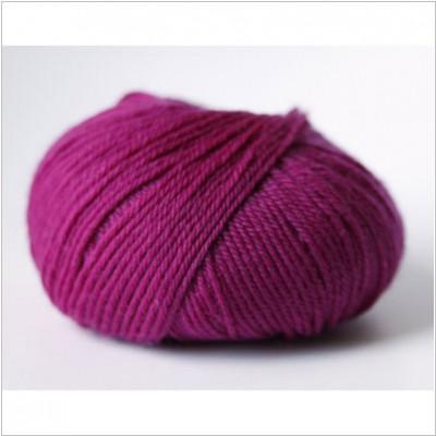 Pure laine lavable pourpre