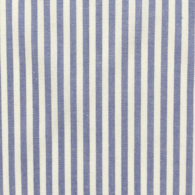 Blue and white stripes poplin
