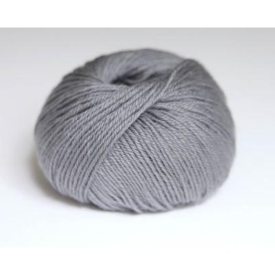 Pure laine lavable gris plume