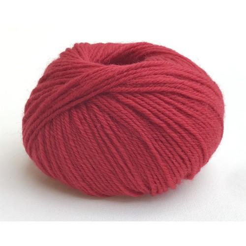 Pure laine lavable cerise