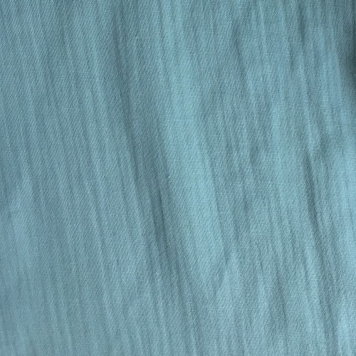 Double gaze de coton organique vert menthe
