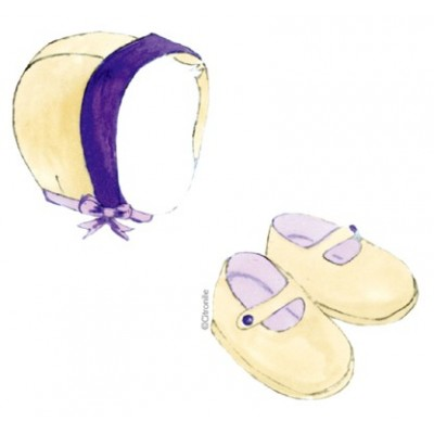 Béguin et chaussons de Liselotte