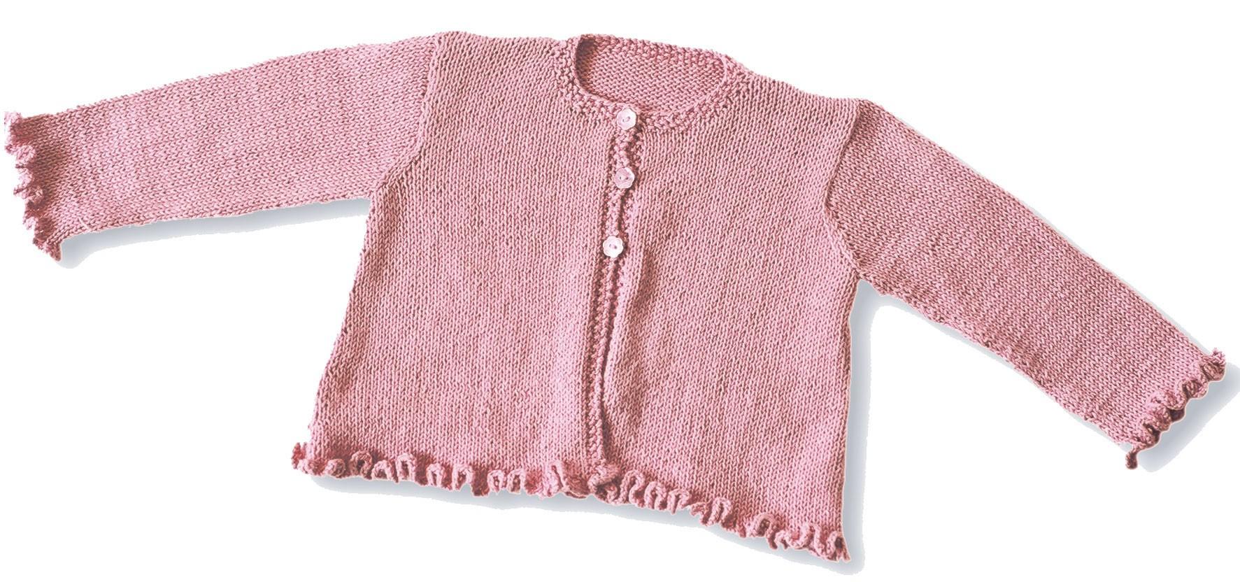 Fiche tricot Citronille   cardigan frou-frous 25a5a5b8c99