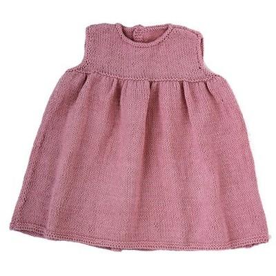 robe bébé froncée