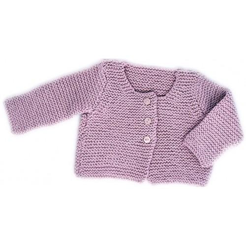 Fiche tricot Citronille   cardigan au point mousse pour bébé a2dec626af7