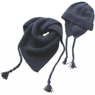 Châle et bonnet péruvien