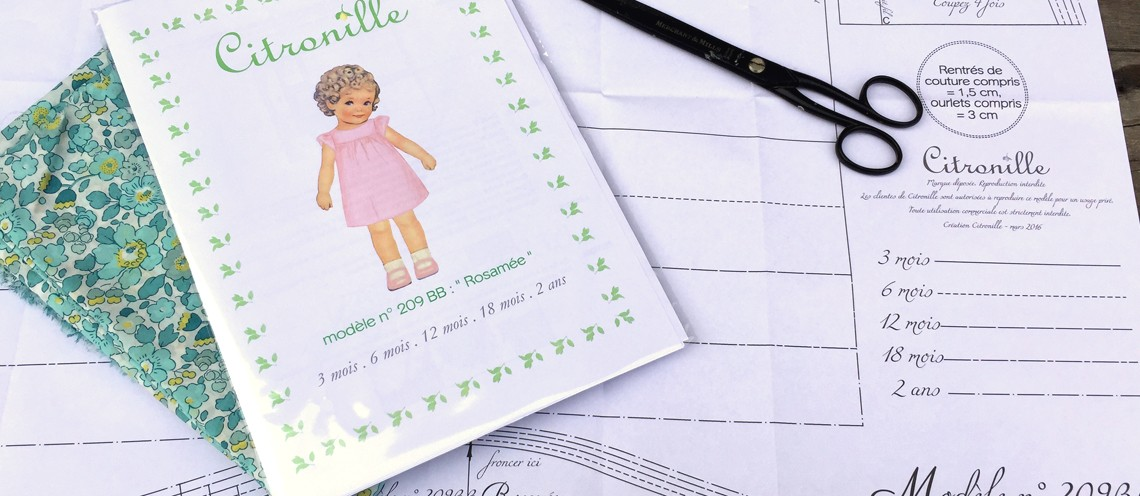 Citronille sewing pattern
